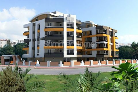 Modernly Designed Apartments in a Peaceful Location in Liman Antalya