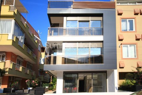 Newly Built Apartments Near the Beach in Lara Antalya