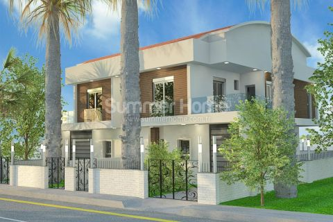 Spacious Villas in Perfect Location in Lara, Antalya
