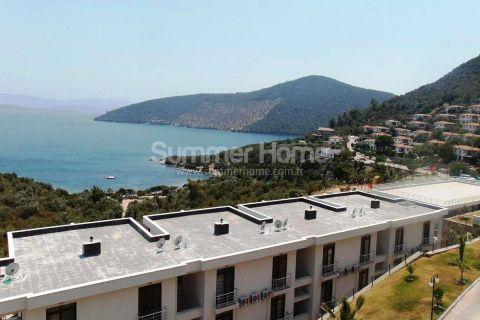 Апартаменты с видом на море по привлекательной цене в Бодруме