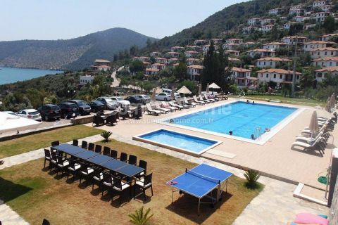 Beachfront Complex with Exclusive Apartments in Bodrum