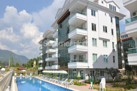 Beautiful Apartments by the River in Wonderful Location in Kestel  Alanya