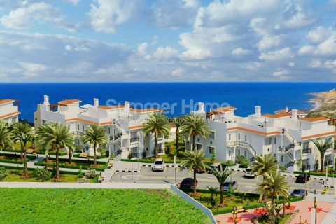 High-Class Apartments with Frontal Sea View in Cyprus