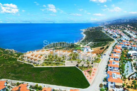 High-Class Apartments with Marvelous Frontal Sea View in Cyprus