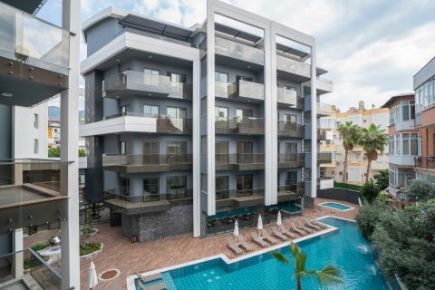 Luxury Apartments in Top-Quality Close to the Most Famous Beach in Alanya
