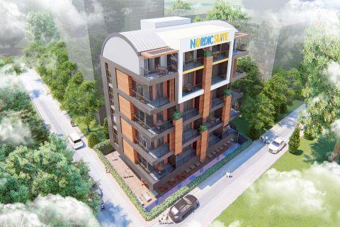 Appartements neufs dans un emplacement idéal au centre d'Alanya