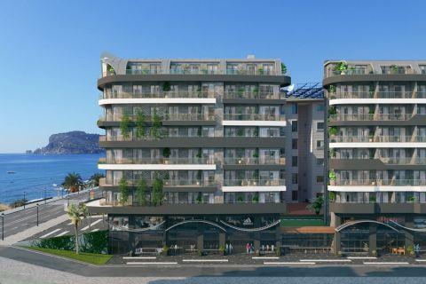 Superbes appartements en bord de mer avec des installations de luxe à Alanya