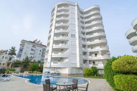 Appartement spacieux à un prix abordable à Tosmur, Alanya