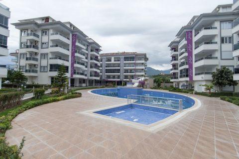 Appartement chic de 2 chambres dans un complexe luxueux à Kestel, Alanya