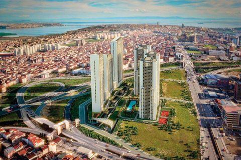 Projet exclusif d'appartements neufs à Esenyurt, Istanbul