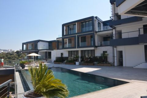 Stylish Apartments with Wonderful Sea View in Bodrum
