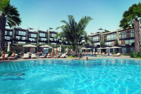 New Sea View Apartments on Seafront Location in Bodrum
