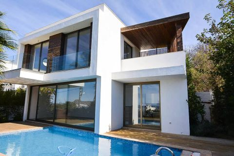 Fancy Villa with Amazing Sea View in Bodrum