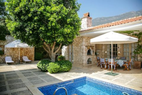 5-Bedroom Villa with Full Furniture at Calm Location in Kalkan, Antalya