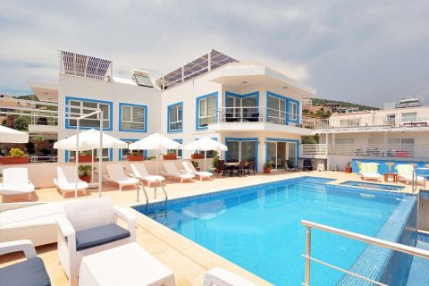 Extra Large Villa with Panoramic View Close to the Beach of Kalkan,Antalya