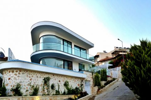 Unique Designed Villa with Privacy on the Hillside of Kalkan,Antalya