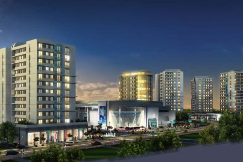 Luxurious Apartments Next to Beach and Shopping Mall in Basaksehir, Istanbul
