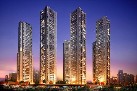 New Luxury Apartments at Favorable Price in Central Istanbul