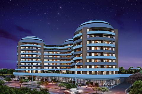 Spacious Apartments in Peaceful Landscapes in Central Istanbul