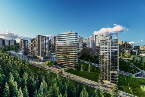 High-Class Apartments Close to All the Amenities in Central Istanbul