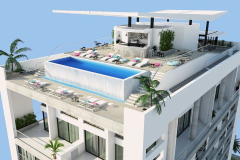 Beachside Project with Ultra Luxury Design in North Cyprus