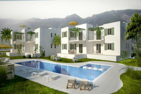 Modern 2 Bedroom Apartments on the Coast of Esentepe, Cyprus