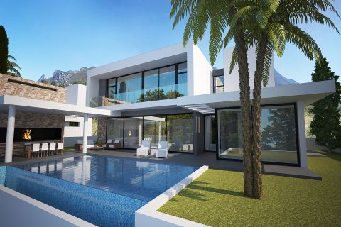 Luxury Seafront Villas with Stunning Panoramic View in Cyprus