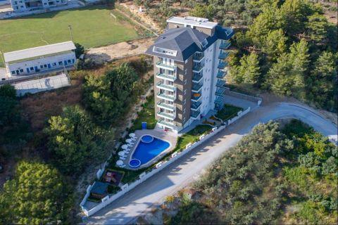 Appartements neufs avec des prix attractifs dans une zone tranquille à Alanya