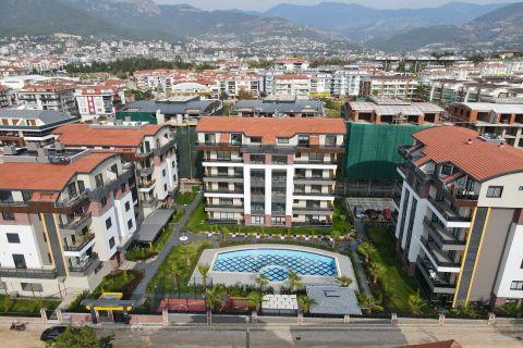 Nouveau projet avec un design de luxe dans le quartier populaire d'Alanya, Oba