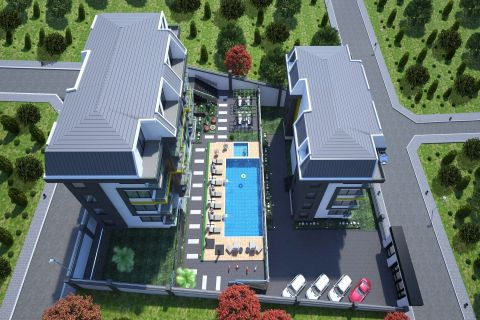 Modern Apartments Surrounded by Nature in Alanya, Kestel