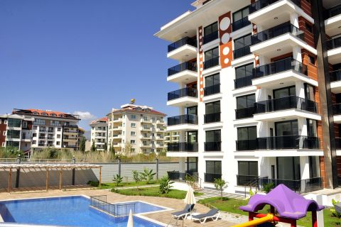 Apartments Near the Beach in Peaceful Area in Kestel, Alanya