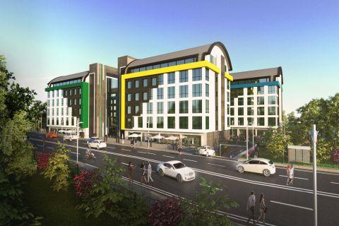 Bureaux et boutiques haut de gamme sur le Penthouse du Summer Park Commercial Center