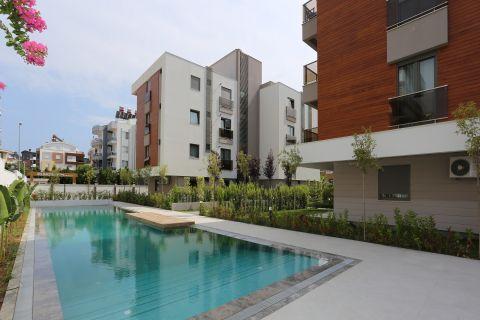 Modern gestaltete Wohnungen in Konyaalti, Antalya