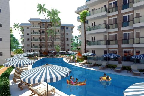 Amazing Apartments in Beautiful Surroundings of Konyaalti, Antalya