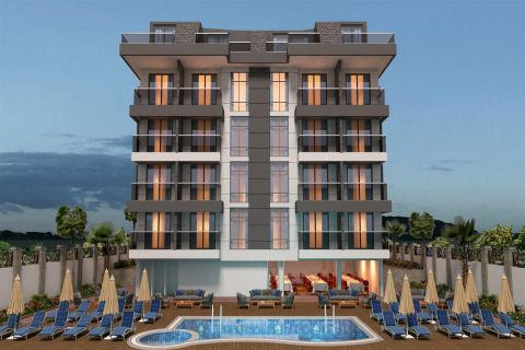 Apartments For Sale in a More Lively Area in Avsallar, Alanya