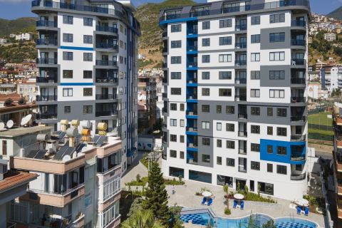 Stunning Apartments With Various Options For Sale in Alanya Centrum