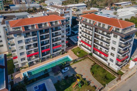 Appartements modernes à vendre près de la plage de Kestel, Alanya