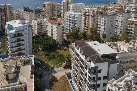 Ruhig gelegene, exklusive Wohnung zu verkaufen in Mahmutlar, Alanya
