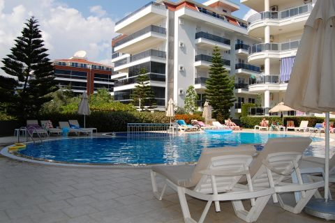 Lovely Affordable and Furnished Resale Apartment in Tosmur, Alanya