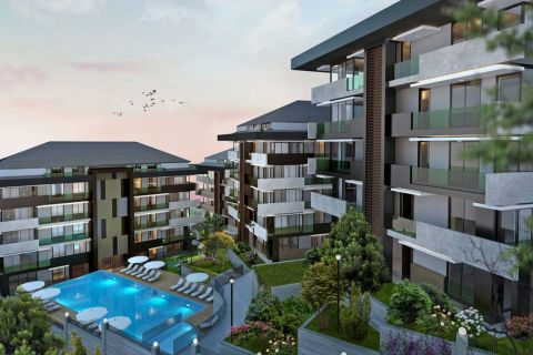 Brand New Apartments For Sale Near Istanbul Trade Center in Maslak, Istanbul