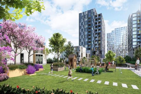 Fancy Project Offers Luxurious Living and Suitable for Families and Investors in Bahcesehir, Istanbul