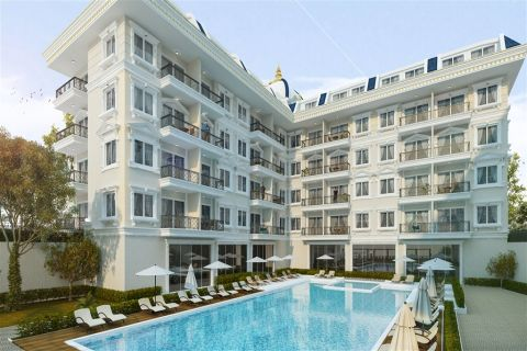 Удачно спроектированный комплекс в Обе, Алания (Турция)