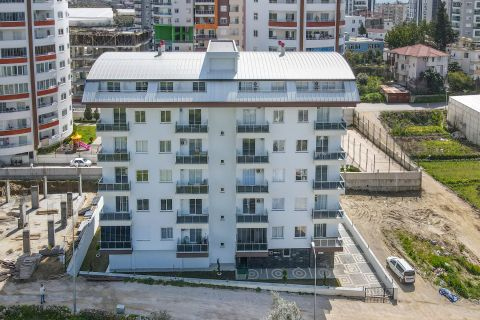 Beautiful New Apartments For Sale in a Quiet Area in Mahmutlar, Alanya