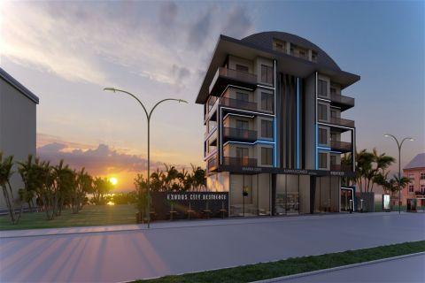 Appartements dans un bel emplacement à vendre près de la plage