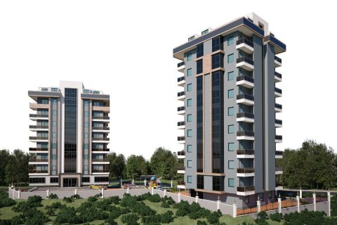 Spacious and Spectacularly Designed Apartments For Sale in Alanya Centre