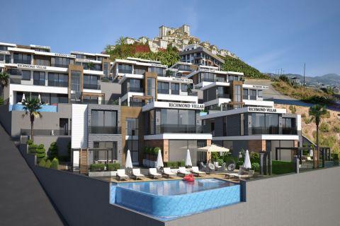 Moderne Villen zum Verkauf in Kargicak, Alanya