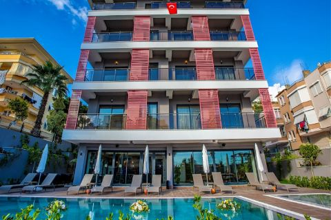 Brand new apartments in Alanya centre
