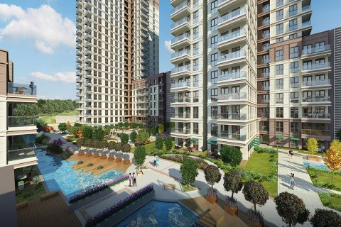 Modern apartments in an amazing location in Istanbul, Bahcesehir