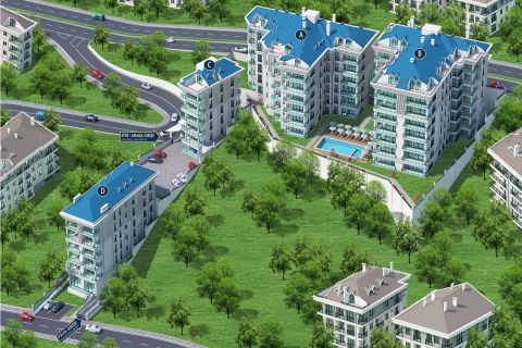 Extravagant apartments for sale in Istanbul,Buyukcekmece