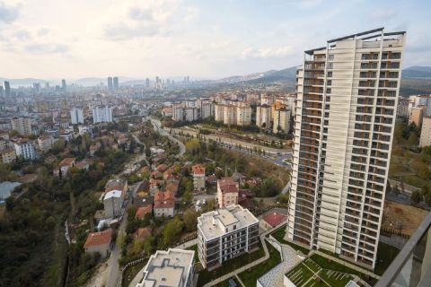 High-end complex in Bahcesehir
